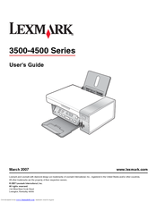 lexmark x3530 manuals rh manualslib com lexmark x3650 printer manual Lexmark 3560 Drivers