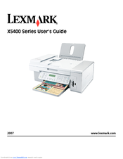 Lexmark X5435 Printer Drivers Mac