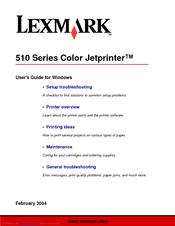 LEXMARK Z510 DRIVER DOWNLOAD