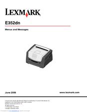 lexmark e352dn e 352dn b w laser printer manuals rh manualslib com lexmark e352dn manuale italiano lexmark e352dn manual pdf