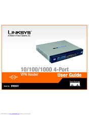 LINKSYS RV0041 DRIVERS (2019)