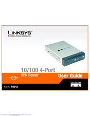 linksys instant broadband series etherfast cabledsl routers user guide
