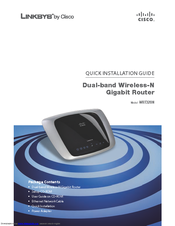 Download Linksys router wrt320n user manual