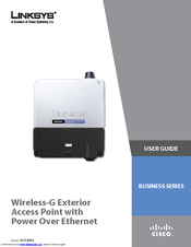Linksys WAP200E-EU - Small Business Wireless-G Exterior Access Point