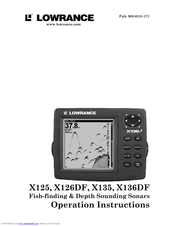 lowrance x135 manuals Wiring Power Cable Lowrance HDS 9 lowrance x135 operation instructions manual