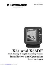 lowrance x51 manuals rh manualslib com