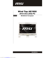 MSI Wind Top AE2420 3D Ralink WLAN Drivers Download