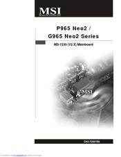 MSI G965 Neo2 Drivers Windows XP