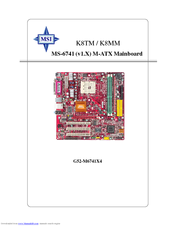 MSI MS-6741 User Manual
