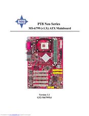 MSI PT890 NEO SERIES DRIVERS DOWNLOAD