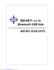 MS-6871 BLUETOOTH WINDOWS 10 DRIVERS DOWNLOAD