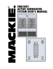 mackie swa1801 manuals rh manualslib com Mackie SRS1500 Subwoofer Power Mackie SRS1500 Subwoofer Power