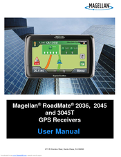 magellan roadmate 3045 lm user manual pdf download rh manualslib com Magellan Maestro 3100 Power Cord Magellan Maestro 3250