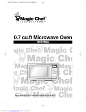 chef oven operating instructions