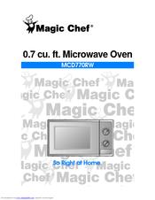 Magic Chef Mcd770rw User Manual
