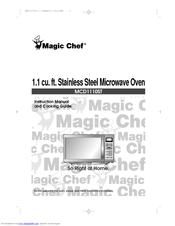 Magic Chef MCD1110ST Manuals on