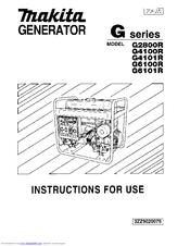 Makita G6100R Manuals on