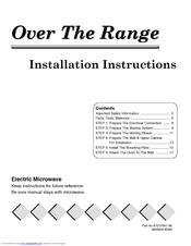 Maytag 8101P641-60 Installation Instructions Manual