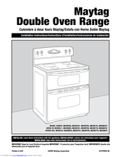 Maytag Mer6751aab Double Oven Ceramic Range Manuals