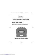 memorex mmg cr1210 manuals rh manualslib com memorex model mb2059c instruction manual Wildgame Innovations Manuals