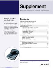 microtek artixscan di 2020 manuals rh manualslib com