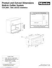 miele cva 2660 manuals rh manualslib com service manual miele cva 620 miele cva 4070 service manual