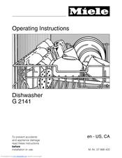 miele inspira g2141 manuals rh manualslib com Best Miele Dishwasher miele incognito dishwasher user manual