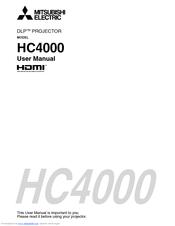 mitsubishi hc4000 manuals rh manualslib com Mitsubishi HC4000 Lamp Mitsubishi HC4000 Bulb