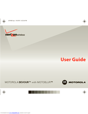 Motorola Devour 68000202479-A User Manual