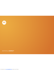 motorola flipout mb511 manuals rh manualslib com Flipout Motorola Blur Celulares Motorola Flipout