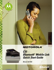 Motorola C51 Series Quick Start Manual
