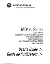 Motorola MD490 Series User Manual