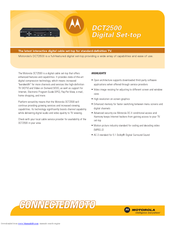 Motorola DCT2500 Technical Specifications