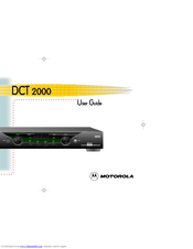Motorola DCT2000 User Manual