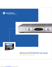 Motorola DCT5100 Setup Manual
