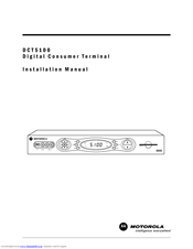 Motorola DCT5100 Installation Manual