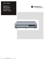 Motorola bmc9022 User Manual