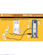 motorola surfboard sb5102 manuals rh manualslib com Motorola Modem Number Location Motorola Modem Lights