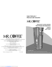 Manuals And User Guides For Mr Coffee Precision Ids77 We Have 1 Manual Available Free Pdf