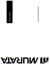Muratec M-700 User Manual