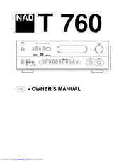 nad t760 manuals rh manualslib com Time Zone Map of Areas 360 Area Code