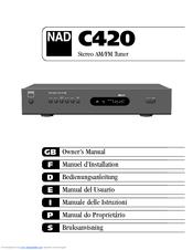 nad c420 owner s manual pdf download rh manualslib com