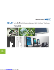 NEC MultiSync EA261WM Tech Manual
