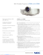 nec lt265 manual