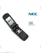 NEC 338 Product Manual