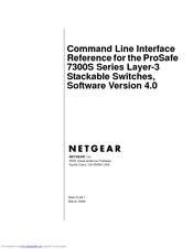netgear 5 port switch manual