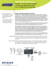 Netgear ProSafe GSM7328 Brochure