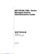 Netgear ProSafe GSM7328 Administration Manual