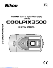 nikon coolpix 3500 user manual pdf download