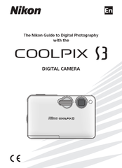 nikon coolpix s3 manuals